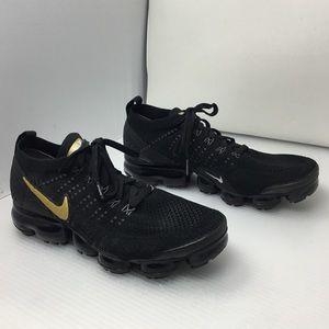 Nike Air Max Vapormax Flyknit 2 Black/ Gold